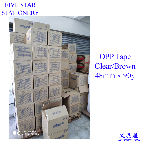 OPP Tape 48mm x 90yard (80m)