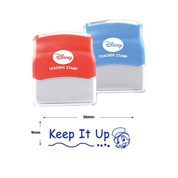 AE Teacher Stamp - Keep It Up (Blue)